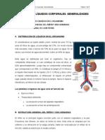 Tema i. RiÑÓn y lÍquidos Corpora Les. General Ida Des