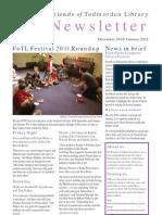Friends of Todmorden Library Newsletter December 2011/January 2012