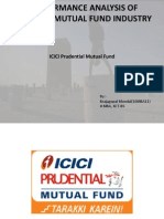 ICICI Prudential Mutual Fund's Performance Analysis