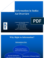 Overview of India Rti