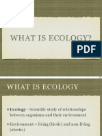 LSM2251-01c What is Ecology
