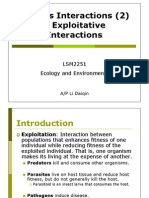 LSM2251-08 Species Interactions II