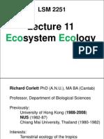 LSM2251 10 Ecosystems