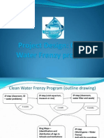 Project Design - Clean Water Frenzy Program