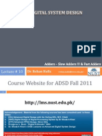 ADSD Fall2011 10 Adders
