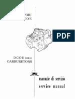 Weber DCOE Service Manual