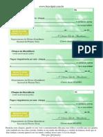 Cheques Da Abundancia