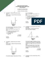 Mathematics form 4- Angle of Elevation