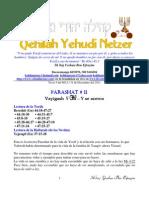 Parashat Vayigash # 11 Adul 6012