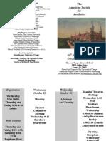 2011 ASA Program - Draft 4