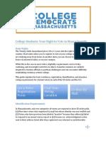 Student Voter Registration Guide 2012