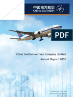 Annul Report China Southern Airline