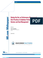 10 Ways to Raise the Bar of Performance Management