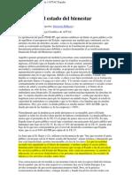 Ataque al estado de bienestar - Vicenç Navarro