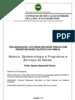 Apostila Epidemiologia e Programas e Serviços de Saúde