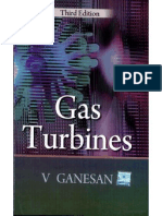 Gas Turbines by v Ganeshan