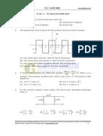 (Www.entrance-exam.net)-GATE (Electronics and Communication Engineering) Exam Sample Paper 1