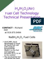 Sodium Borohydride Fuel Cell AVRC