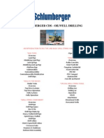 SCHLUMBERGER CDS