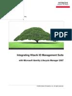 Integrating Mtech Idm Suite With Miis