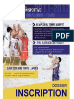 Dossier Section Volley Tours 2011-2012