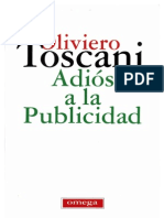 Adiós a la Publicidad-Oliviero Toscani