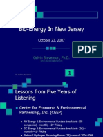 Lessons Learned at Bio-Energy in Nj Gs 030508