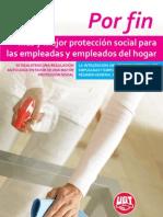 Mas y Mejor Proteccion Social Para Las Empleadas y Empleados Del Hogar_UGT