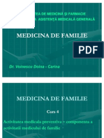 Medicina de Familie (Amg) - Curs 4 Expunere