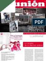 Revista Union número 225 de diciembre de 2011
