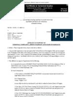 Hanssen Affidavit Case