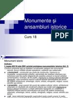 Curs 18 Monumente Ansambluri Si Situri Istorice