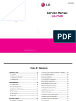 LG P500 - Service Manual