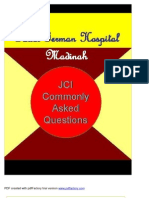 JCI Commonly Asked Questions