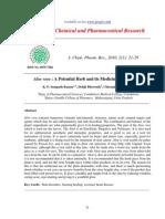 J. Chem. Pharm. Res.,2010, 2(1) 21-29