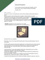 Processo de Impressão Offset