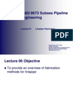 07 - Linepipe Fabrication