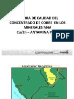 3 Presentacion Miguel Porras - Antamina