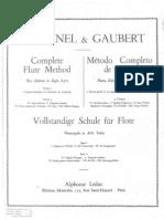 flauta - método - taffanel e gaubert - parte 1 de 4