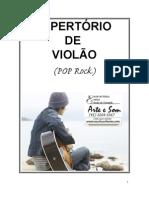 repertório de violão pop rock