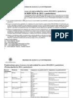 Documento Ponderaciones 2012 y Posteriores Version Novembre 2011