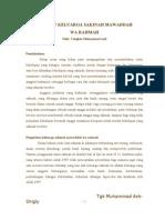 Merajut Keluarga Sakinah Mawaddah Wa Rahmah Oleh Tengkiu Muhamma Axel