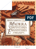 manual completo de la madera la carpinteria y la ebanisteria - albert jackson
