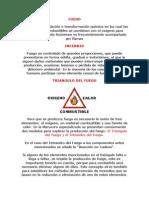 FUEGO Prevencion Incendios Vulcanos Df