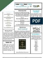 Newsletter 12-22-2011