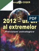 2012 - un an al extremelor