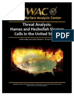 Threat Analysis - Hamas and Hezbollah Sleeper Cells in the United States-Urban Warfare Analysis Center