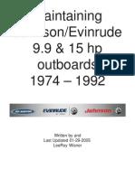 Maintaining Johnson 1974-1992