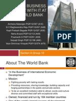 World Bank SecA Group10