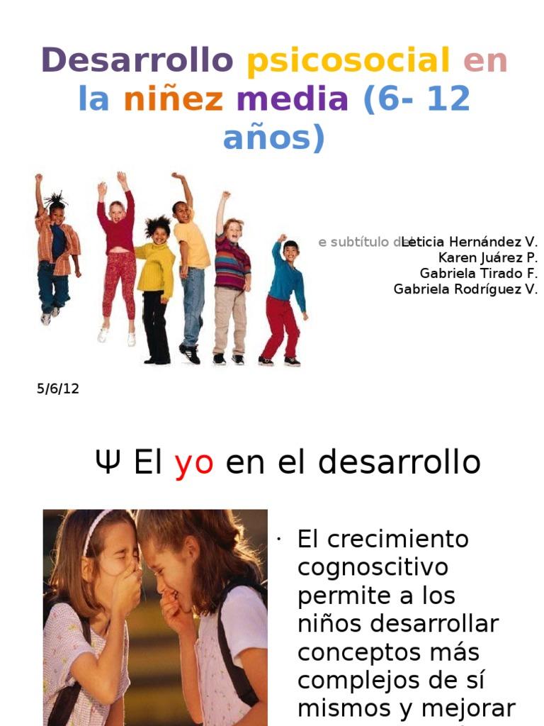 Desarrollo Psicosocial En La Ni 241 Ez Media